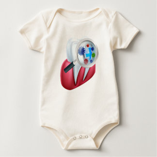 Body Para Bebê Protetor da proteção do dente