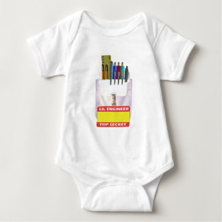 Body Para Bebê Protetor do bolso do engenheiro de Lil