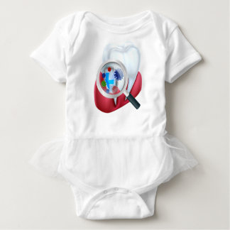 Body Para Bebê Protetor do dente da proteção