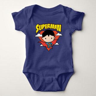 Body Para Bebê Protetor e nome das bolinhas do superman de Chibi