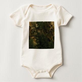 Body Para Bebê protuberâncias e colisões da rocha