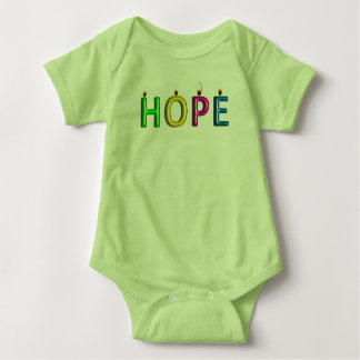 Body Para Bebê Prova viva do T do bebê da esperança