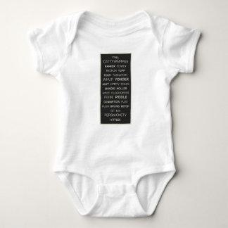 Body Para Bebê Provérbios do sul