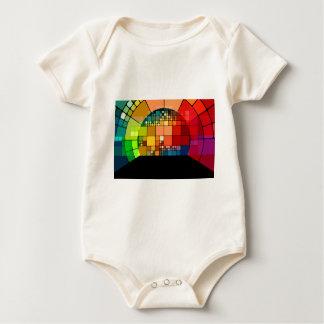 Body Para Bebê Psicadélico