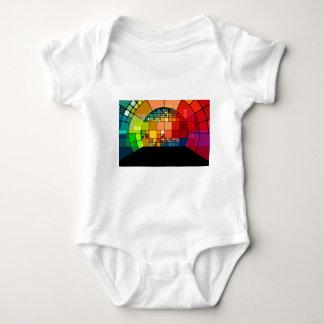 Body Para Bebê Psicadélico colorido