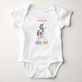 Body Para Bebê Psto pelo Bodysuit da baía dos unicórnios