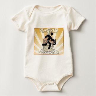 Body Para Bebê Psto pelo logotipo dos Sunrays das panquecas -