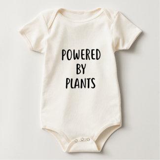 Body Para Bebê Psto por plantas