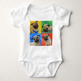 Body Para Bebê Pug preliminar