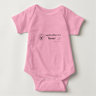 Body Para Bebê pugilista