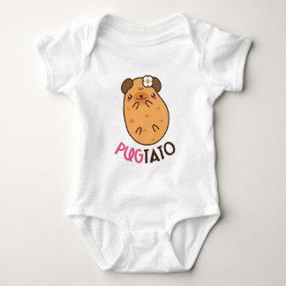 Body Para Bebê Pugtato (batata do pug)