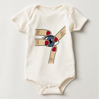 Body Para Bebê Puxão