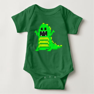 Body Para Bebê PXL T-Rex (GN)