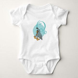 Body Para Bebê Q é para codorniz