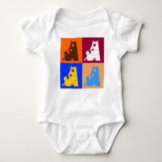 Body Para Bebê Quadrado do mel B