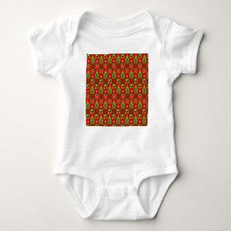 Body Para Bebê Quadrados decorativos do feriado