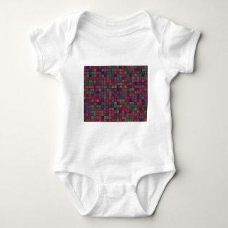 Body Para Bebê Quadrados escuros