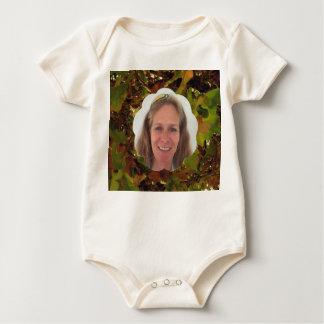 Body Para Bebê Quadro da foto da nuvem de Frost
