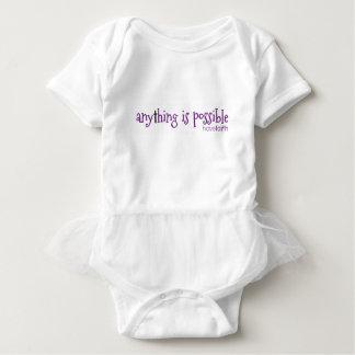 Body Para Bebê Qualquer coisa é ~ possível tem a fé