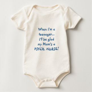 Body Para Bebê Quando eu for adolescente-Miúdos de Psych.
