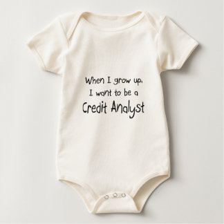Body Para Bebê Quando eu me cresço acima queira ser um analista