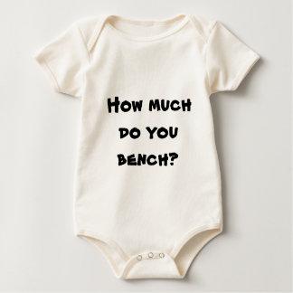 Body Para Bebê Quanto você bench?