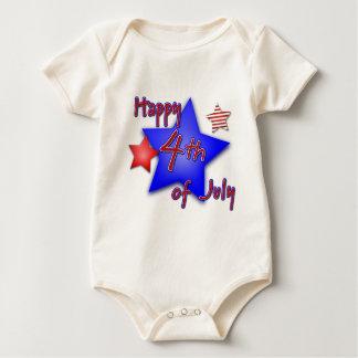 Body Para Bebê Quarto da celebração de julho