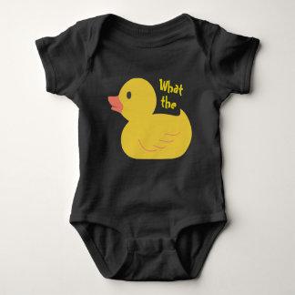 Body Para Bebê Que o pato?