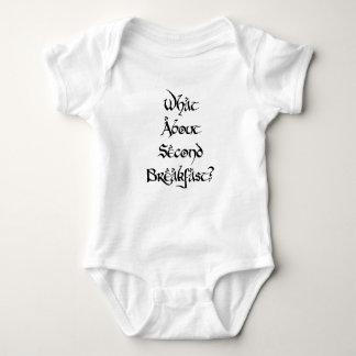 Body Para Bebê Que sobre o segundo pequeno almoço?