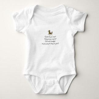 Body Para Bebê Que você quer o unicórnio?