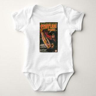 Body Para Bebê Queda através do espaço