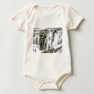 Body Para Bebê queda das rochas sobre as quedas