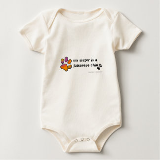 Body Para Bebê queixo japonês