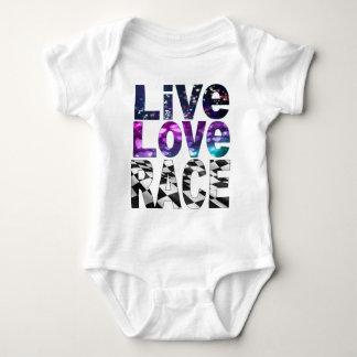 Body Para Bebê raça viva do amor