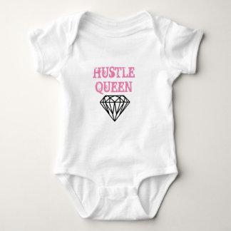 Body Para Bebê Rainha da convicção do Bodysuit dos bebés
