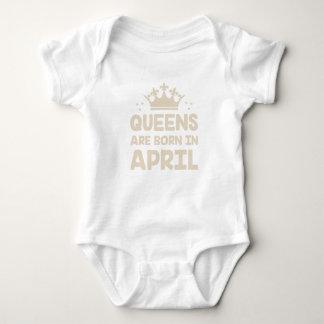 Body Para Bebê Rainha de abril