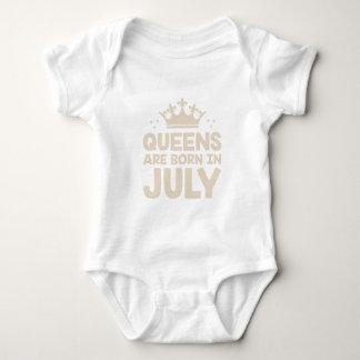 Body Para Bebê Rainha de julho