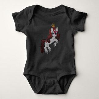 Body Para Bebê Rainha dos corações