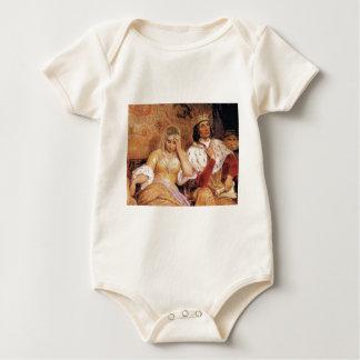Body Para Bebê rainha e rei justos