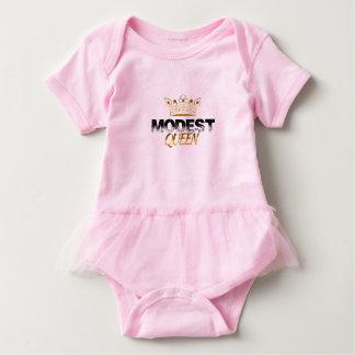 Body Para Bebê Rainha modesta