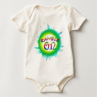 Body Para Bebê Ramble sobre