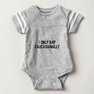 Body Para Bebê Rap Caucasianally
