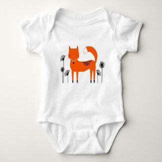 """Body Para Bebê """"Raposa selvagem do país do trabalho de arte"""