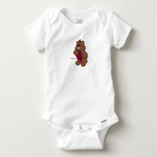 Body Para Bebê Raspbearry - Zaubaerland