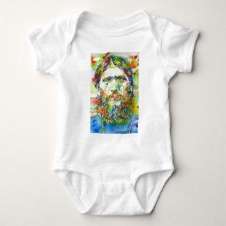 Body Para Bebê RASPUTIN - aguarela portrait.1