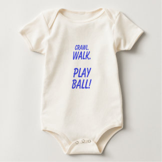 Body Para Bebê Rastejamento, caminhada, bola do jogo!