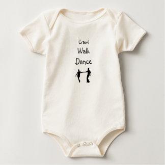 Body Para Bebê Rastejamento, caminhada, dança