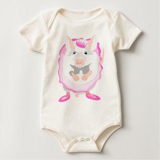 Body Para Bebê rato da bailarina