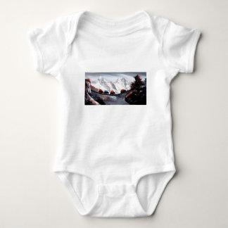 Body Para Bebê Rebanho de iaques Himalaya da montanha