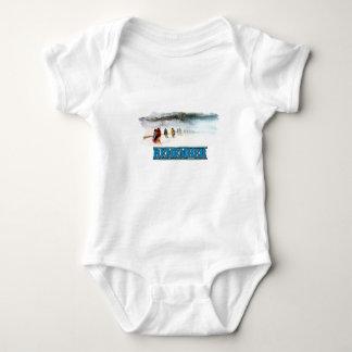 Body Para Bebê Recorde a fuga dos rasgos